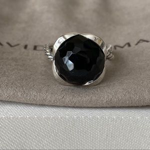 David Yurman Onyx Continuance Ring